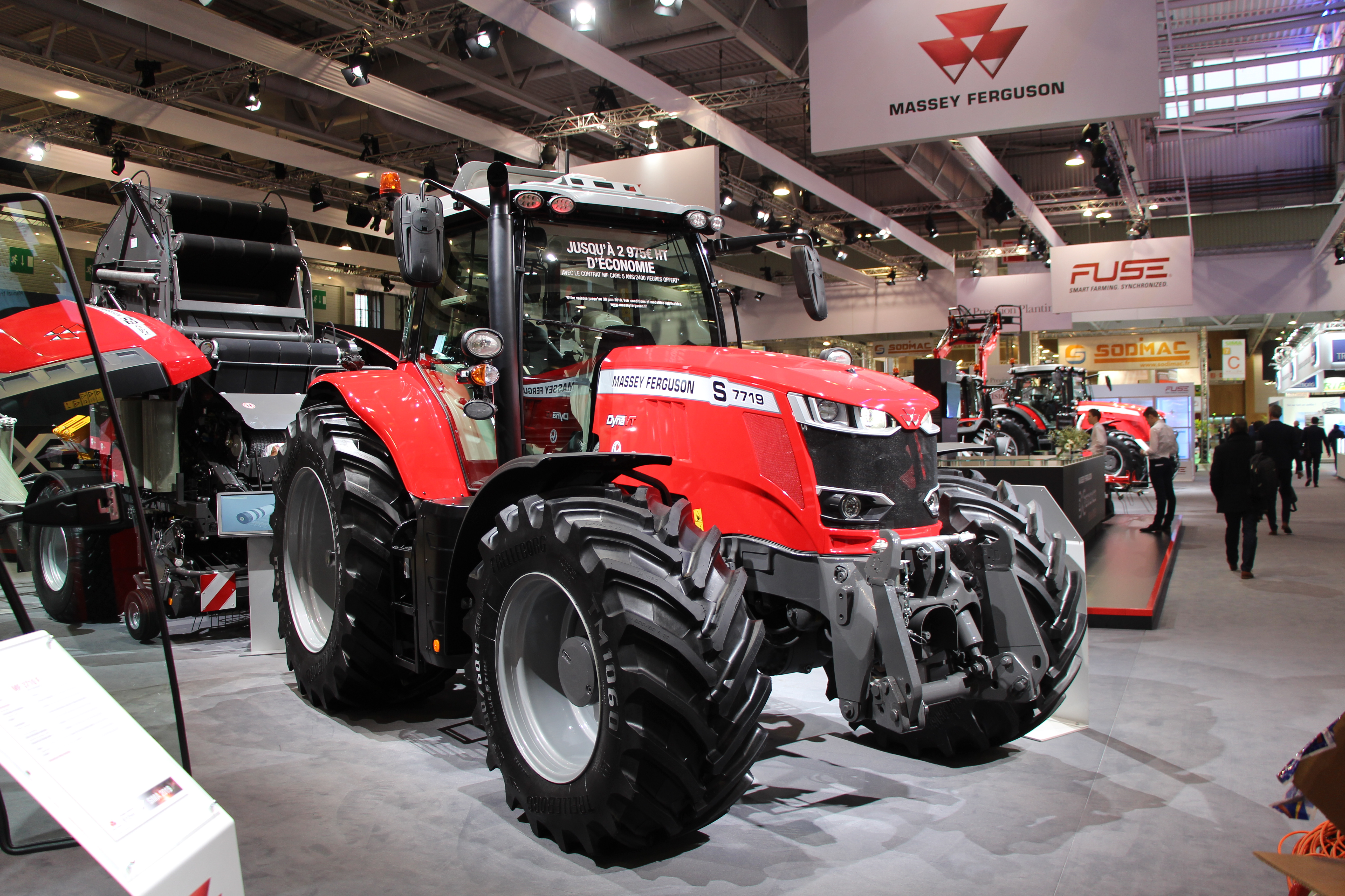 Massey Ferguson 7700 Stage V Réussir machinisme